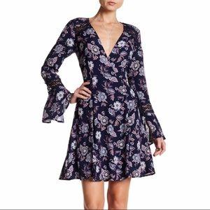 Astr the Label for Nordstrom Floral Boho Dress